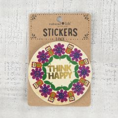 Stickers Love is Dog Think Happy Owl