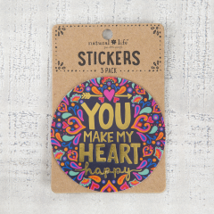 Stickers Love is Dog You Make My Heart