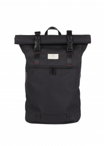 Christopher Nylon Accents Black X Red