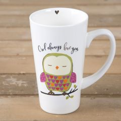 Latte Mug Owl Always Love You