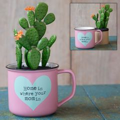 2in1 Mug Succulent Home Mom Is