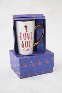 Boxed Latte Mug Love You Latte