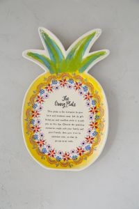 Giving Plate Pineapple