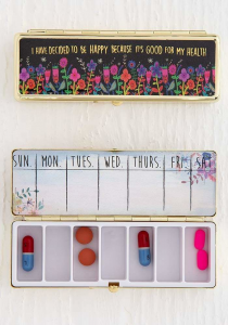 Daily Pill Box Decide To Be Happy