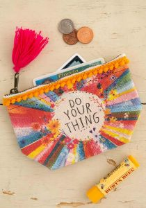 Mini Canvas Pouch Do Your Thing