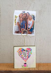 Photo Holder Home is Where Mom Is