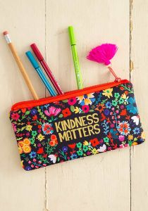 Pencil Pouch Kindness Matters
