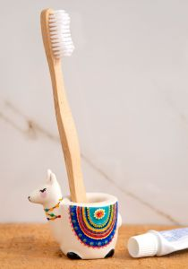 Toothbrush Holder Llama