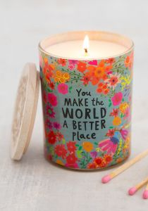 Soy Candle Make the World Better