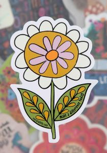 Sticker make a difference daisy