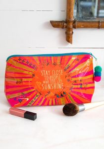 Make Up Bag Sunshine