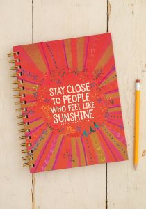 Spiral Notebook Sunshine