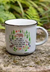 And Into The Forest Camp Mug