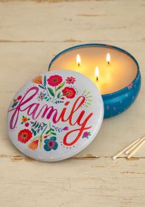 Candle Tin Family