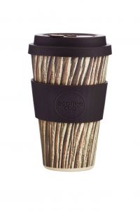 Bamboo Cup With Lid Milperra Baumrinde