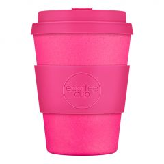 Bamboo Cup With Lid Couleur Café