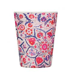 Bamboo Cup With Lid Papa Rosa
