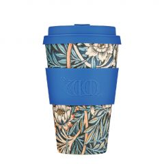 Bamboo Cup With Lid Lily